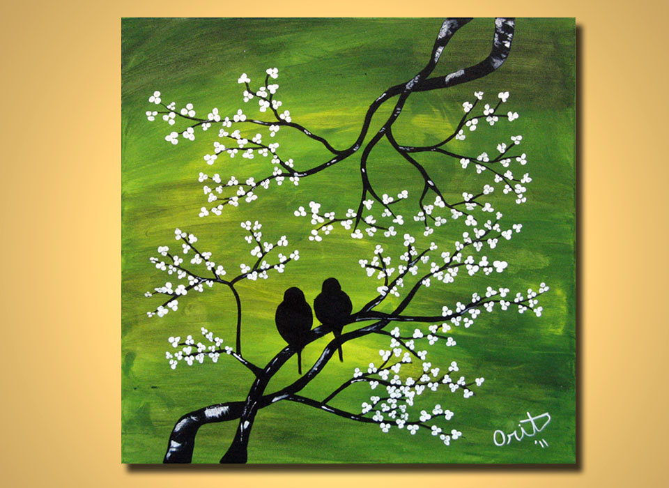 25 beautiful love birds painting etsy