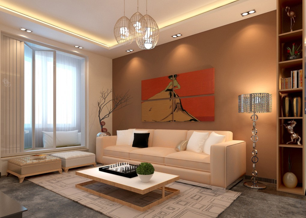 Living room lighting for Modern living room lamps