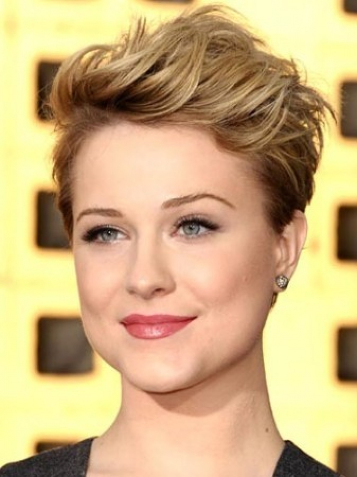 Hairstyle For Prom Round Face : Best short hairstyles for round faces