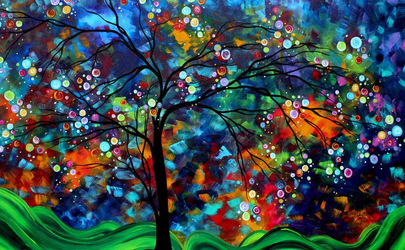 Most Beautiful Fine Arts Abstract Paintings - photo#12