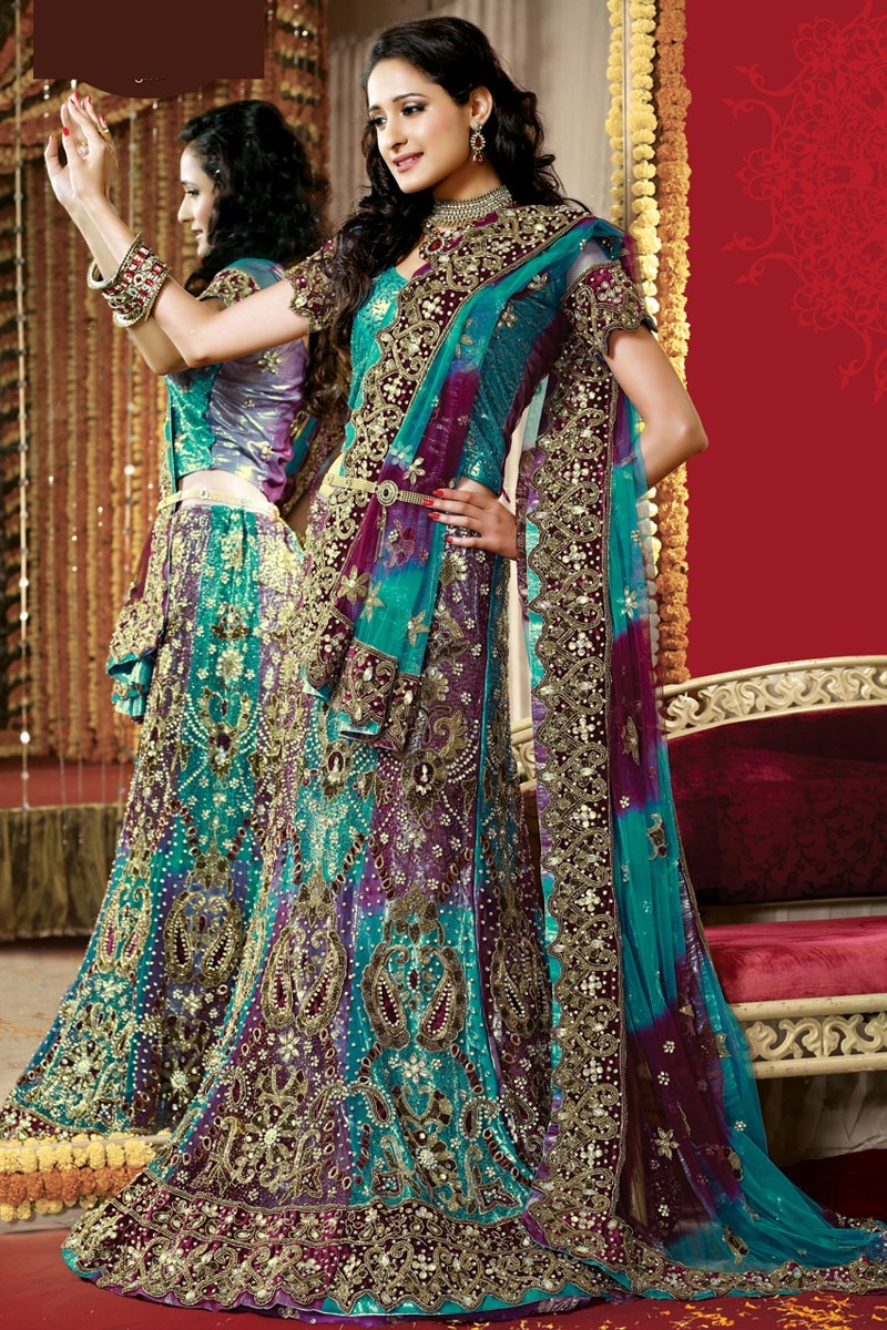 blue-and-red-indian-wedding-dresses-bridal-wedding-heavy-lehengas-collection-2014-lehenga-image-dresses-gallery