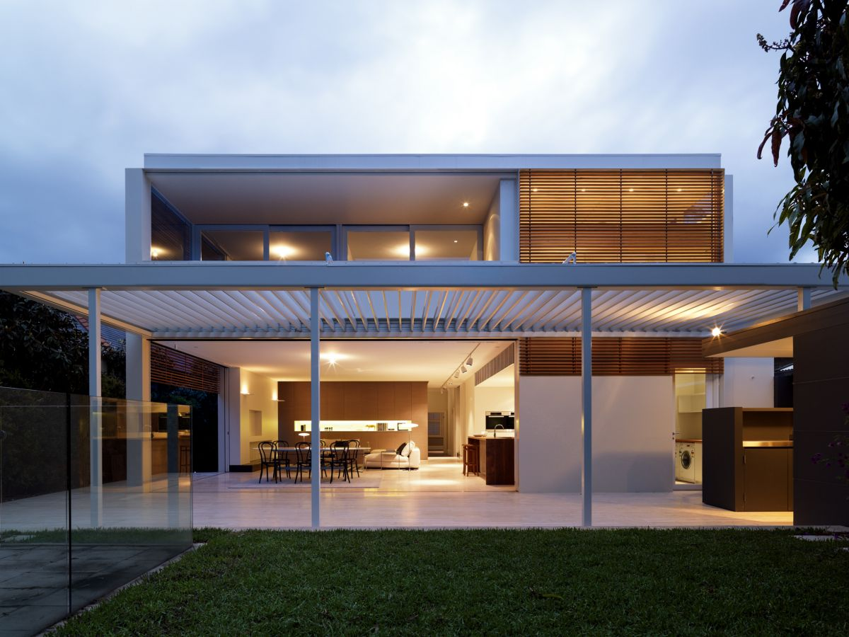 contemporary mooramie house design
