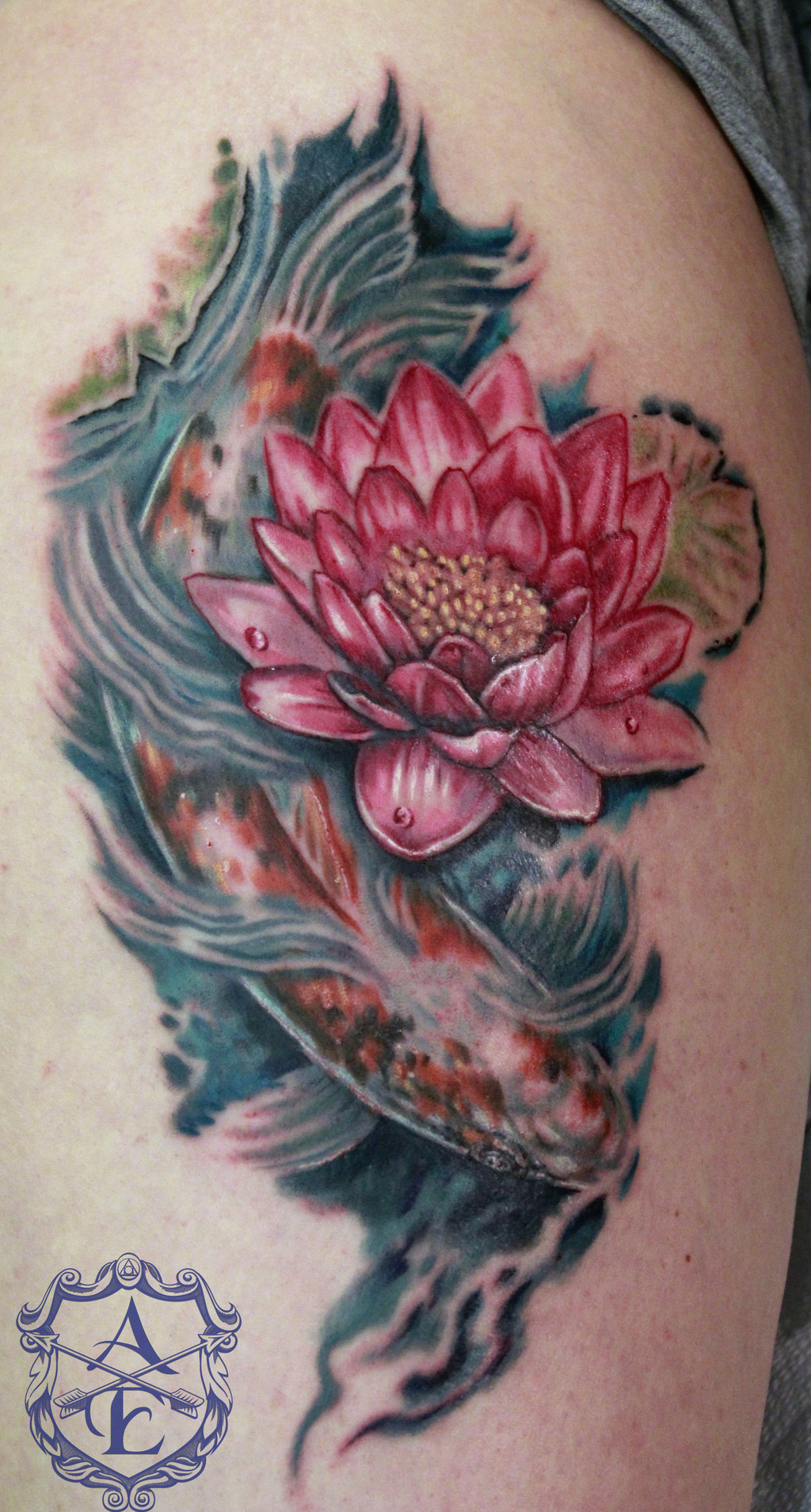 25 Lotus Flower Tattoo