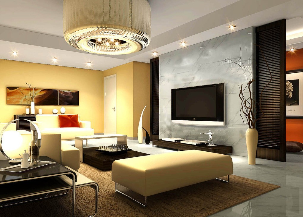 Living room lighting ideas pictures for Living room decorating ideas images