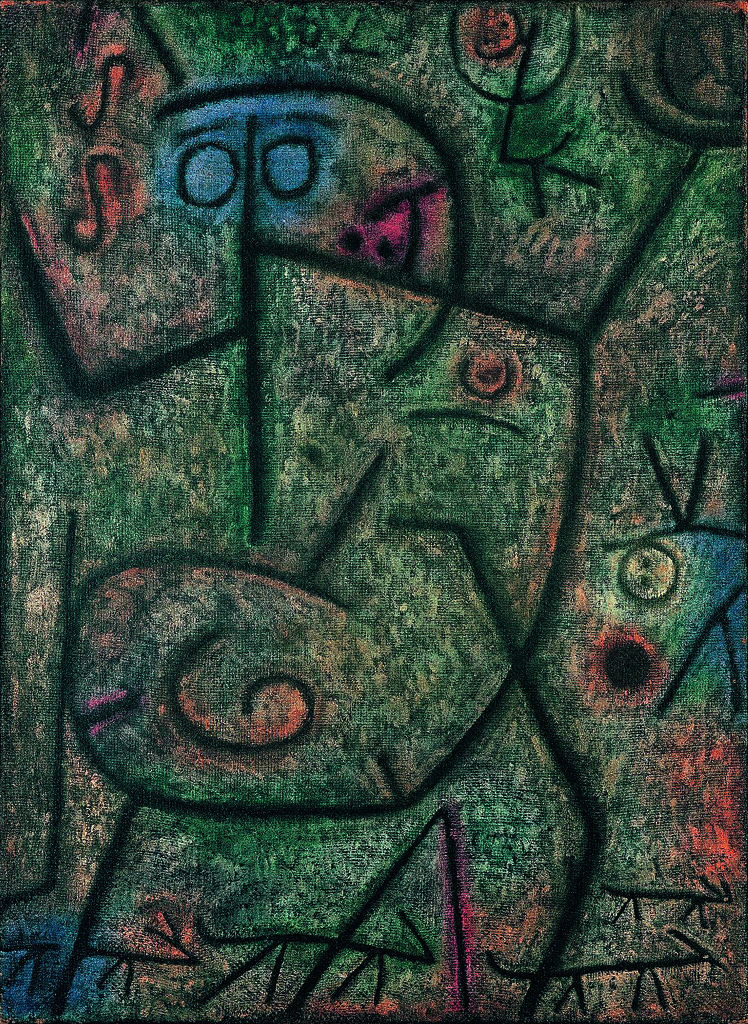paul klee abstract art work