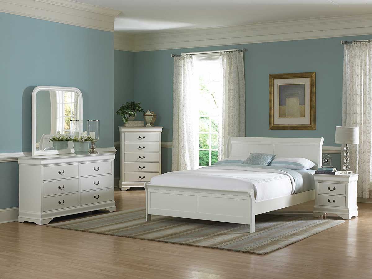 25 white bedroom furniture design ideas for Quality white bedroom furniture