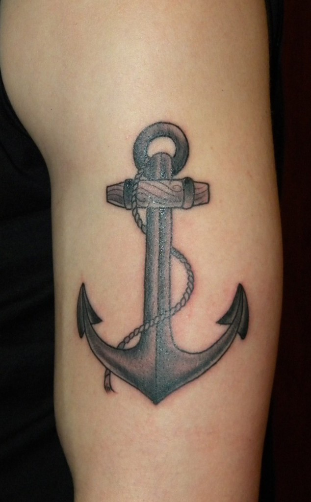 Anchor-Tattoo-On-Arm-design