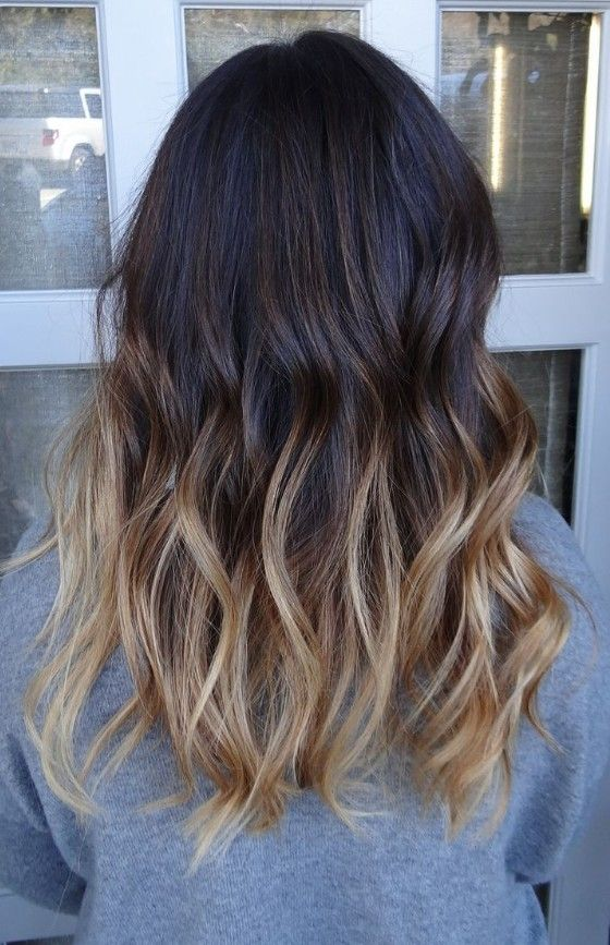 Dark to Brunette Ombre HairHottest Hair