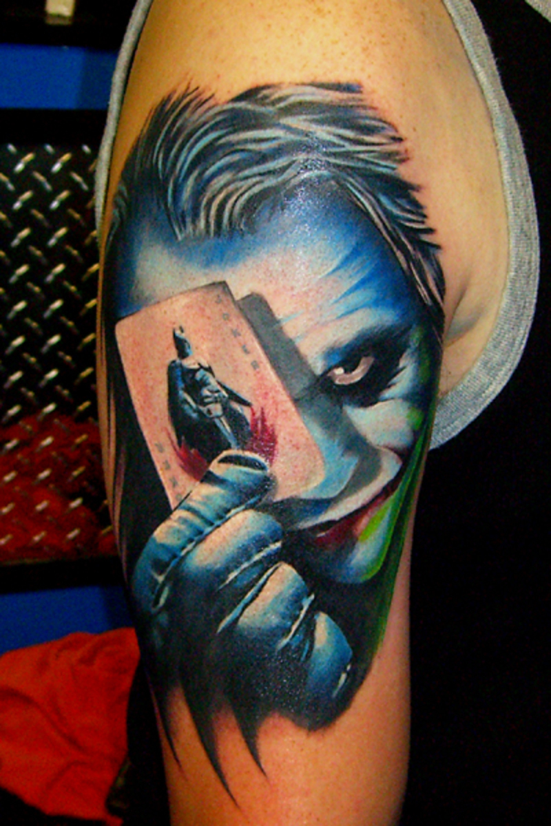 Joker-Face-Tattoos