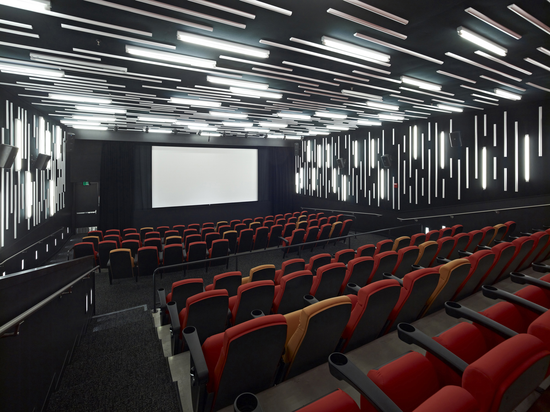 The interior of the San Francisco Film Society | New People Cinema