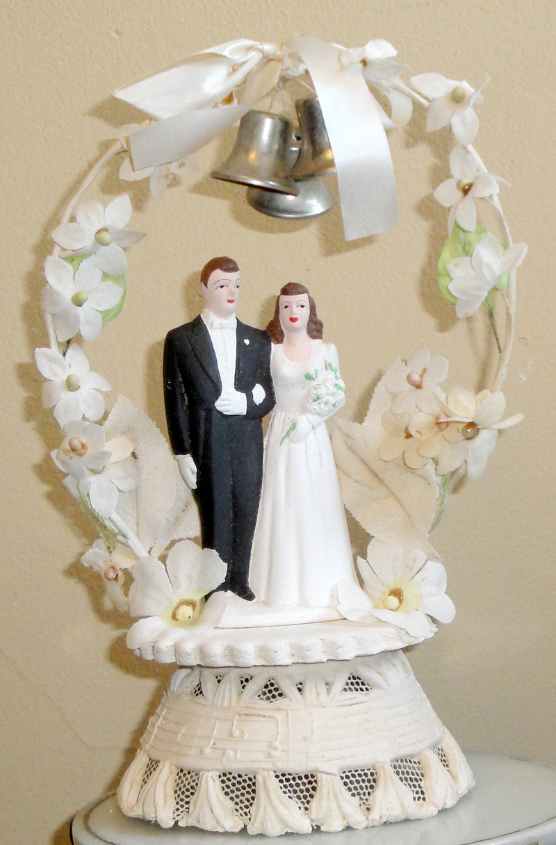 retro wedding cake toppers vintage style wedding cake toppers 19202