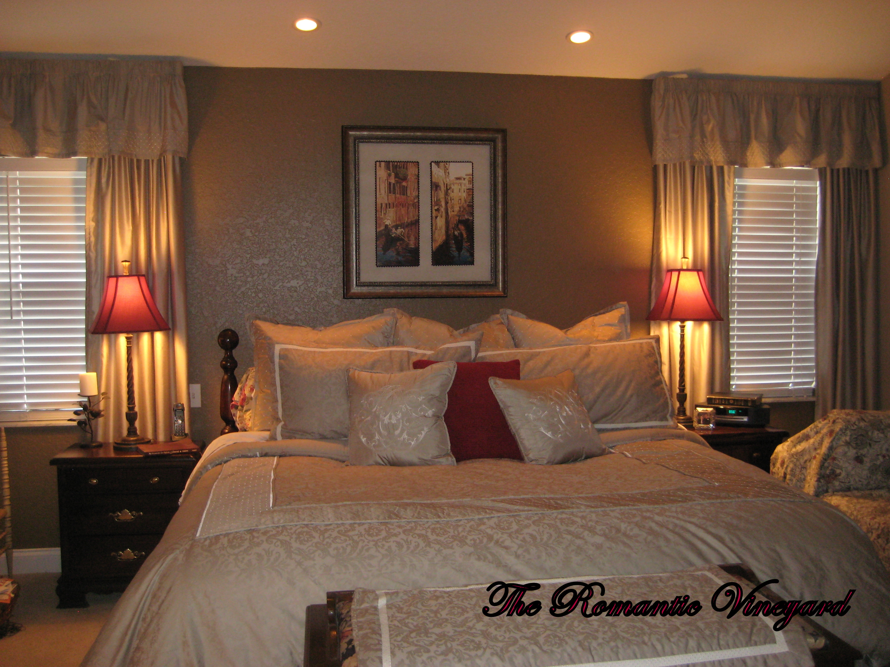 30 romantic master bedroom designs for Romantic bedroom ideas for married couples