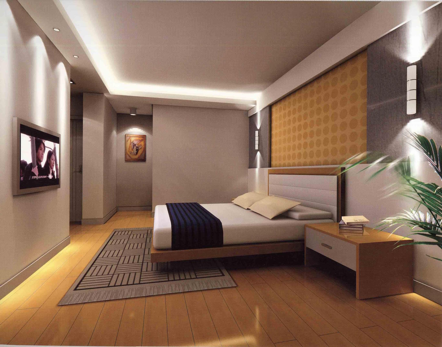 Interior design styles master bedroom for Big bedroom interior design