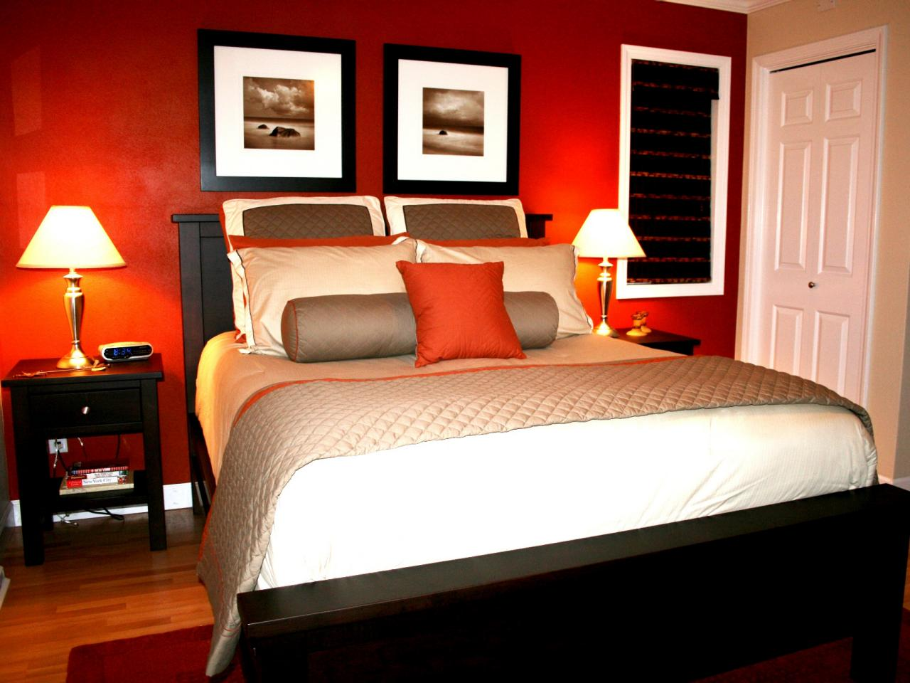 bold-red-cream-master-bedroom