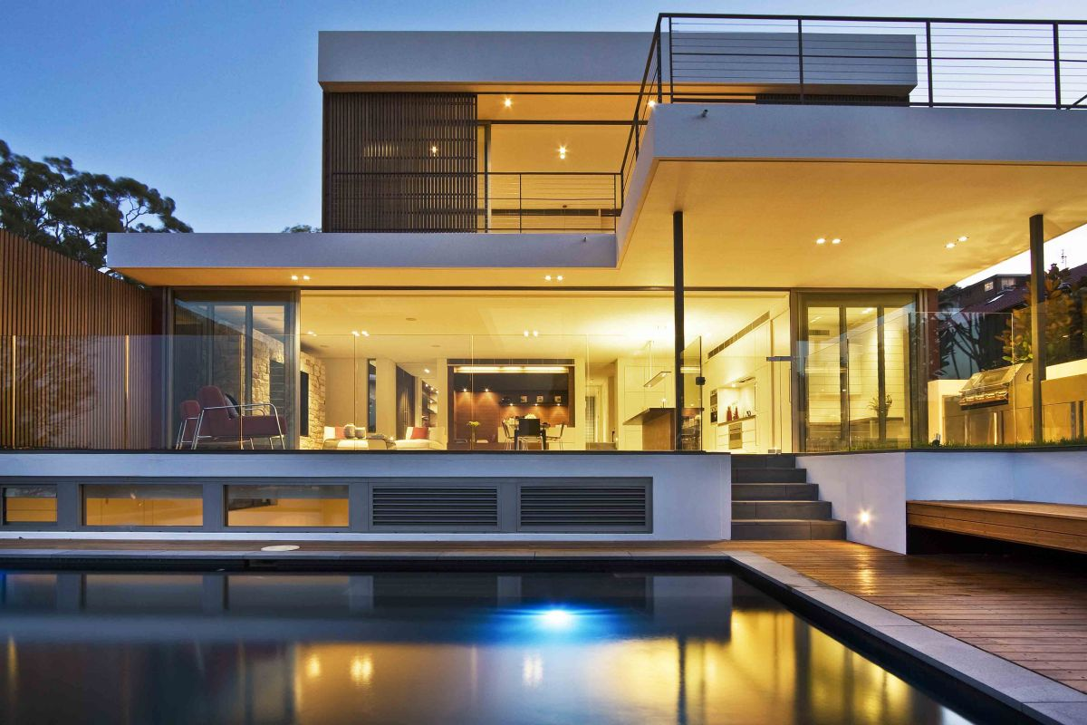 Architectural designs for modern houses for Modern luxury home design