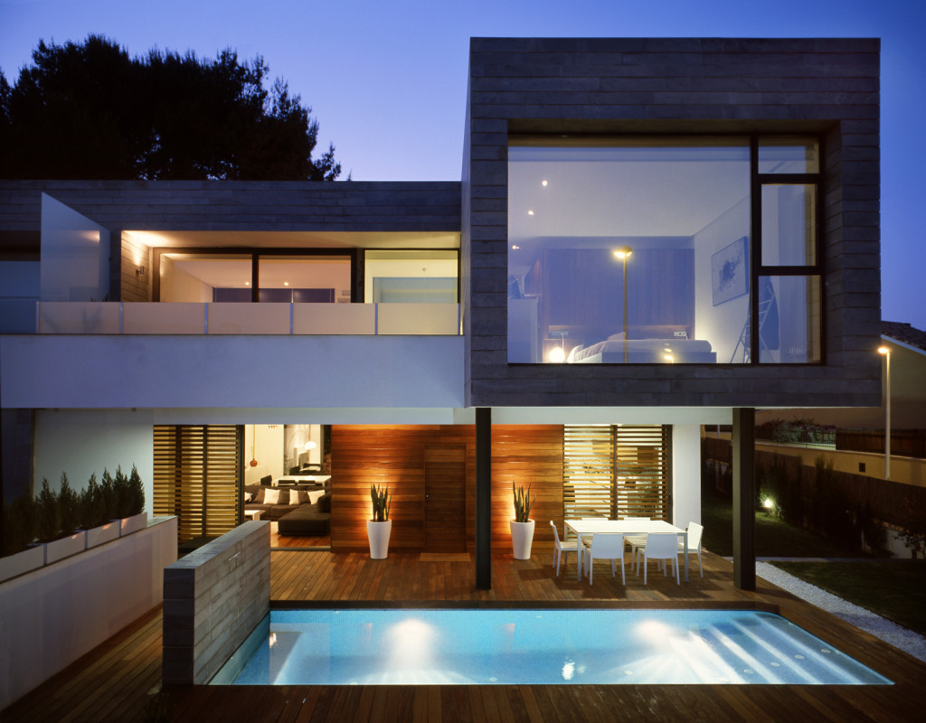 Architectural designs for modern houses for Contemporary design style