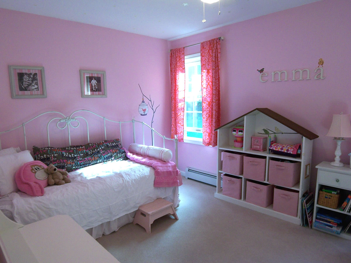 30 inspirational girls pink bedroom ideas