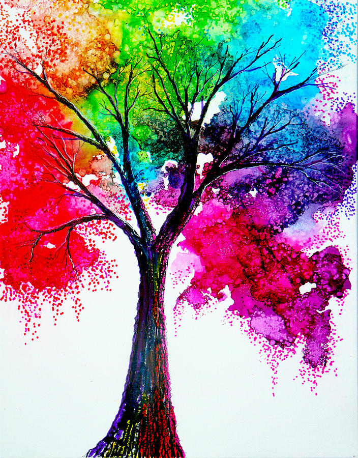 25 beautiful colorful watercolor paintings for Beautiful sketch paintings