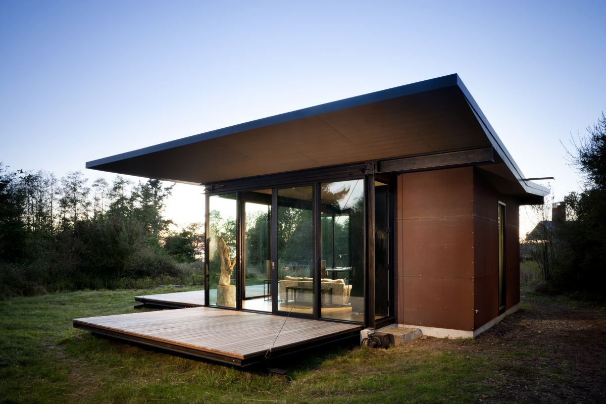 30 beautiful modern prefab homes for Gorgeous modern homes