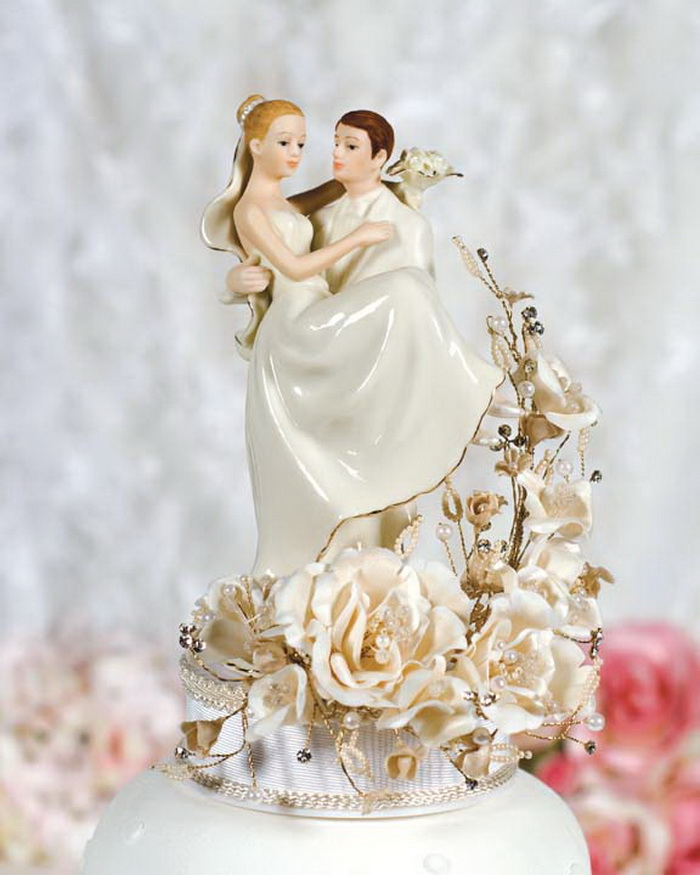 Contemporary Wedding Cake Toppers Uk
