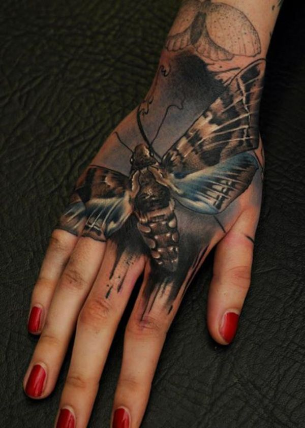 3D-butterfly-tattoo-on-hand
