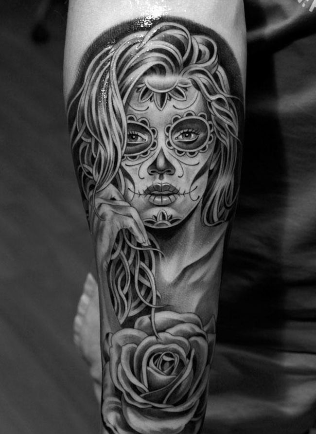 Day-Of-The-Dead-Tattoos-1