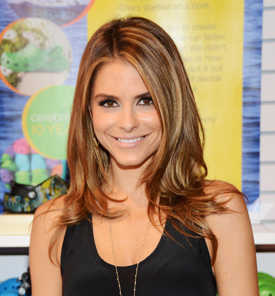 Maria-Menounos-Long-Straight-Haircut