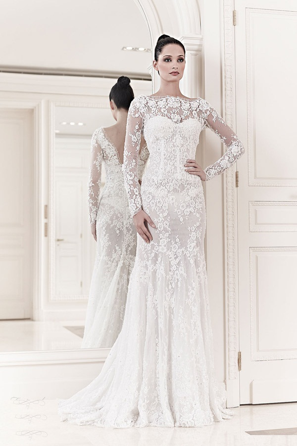 Popular-Long-Sleeves-Bridal-FrocksIdeal-Suits-2015