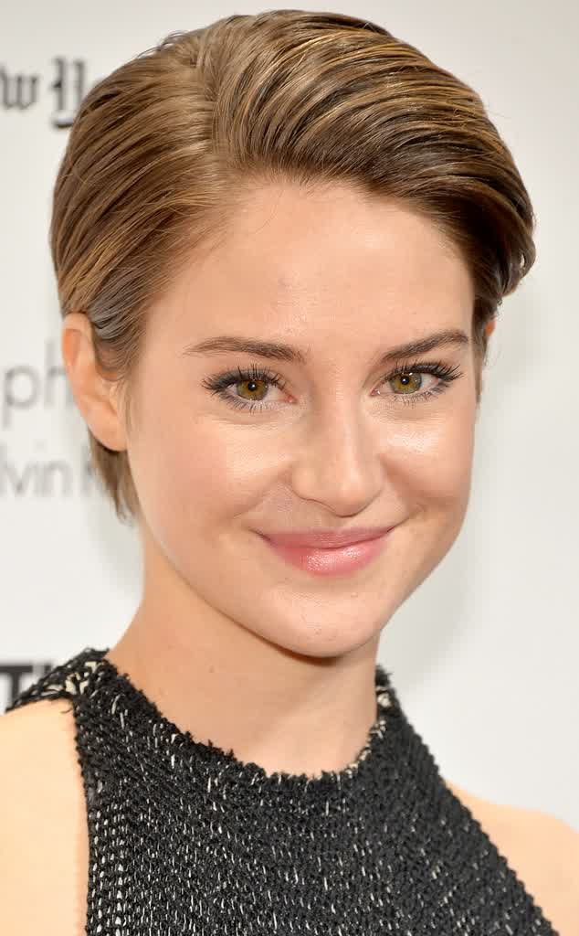 Shailene-Woodley-Neat-Short-Pixie-Hairstyles-With-Gel-2015