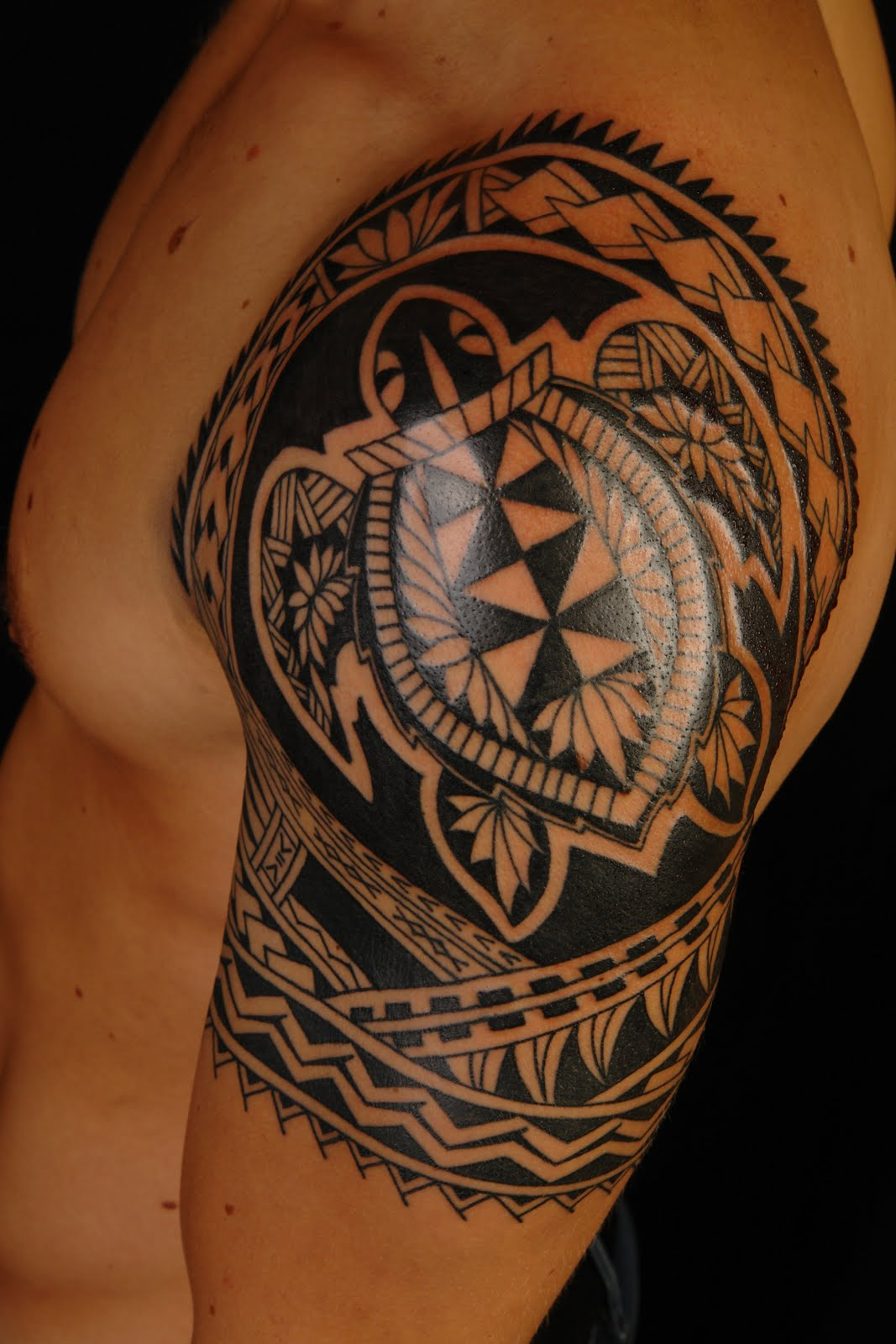Turtle-Ocean-Maori-Tattoo-Design-Symbol-and-Meaning