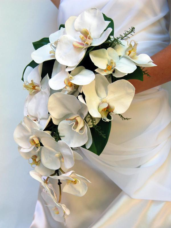 Wedding Bouquets with Orchids