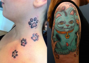 35 Amazing Cute Cat Tattoo Ideas