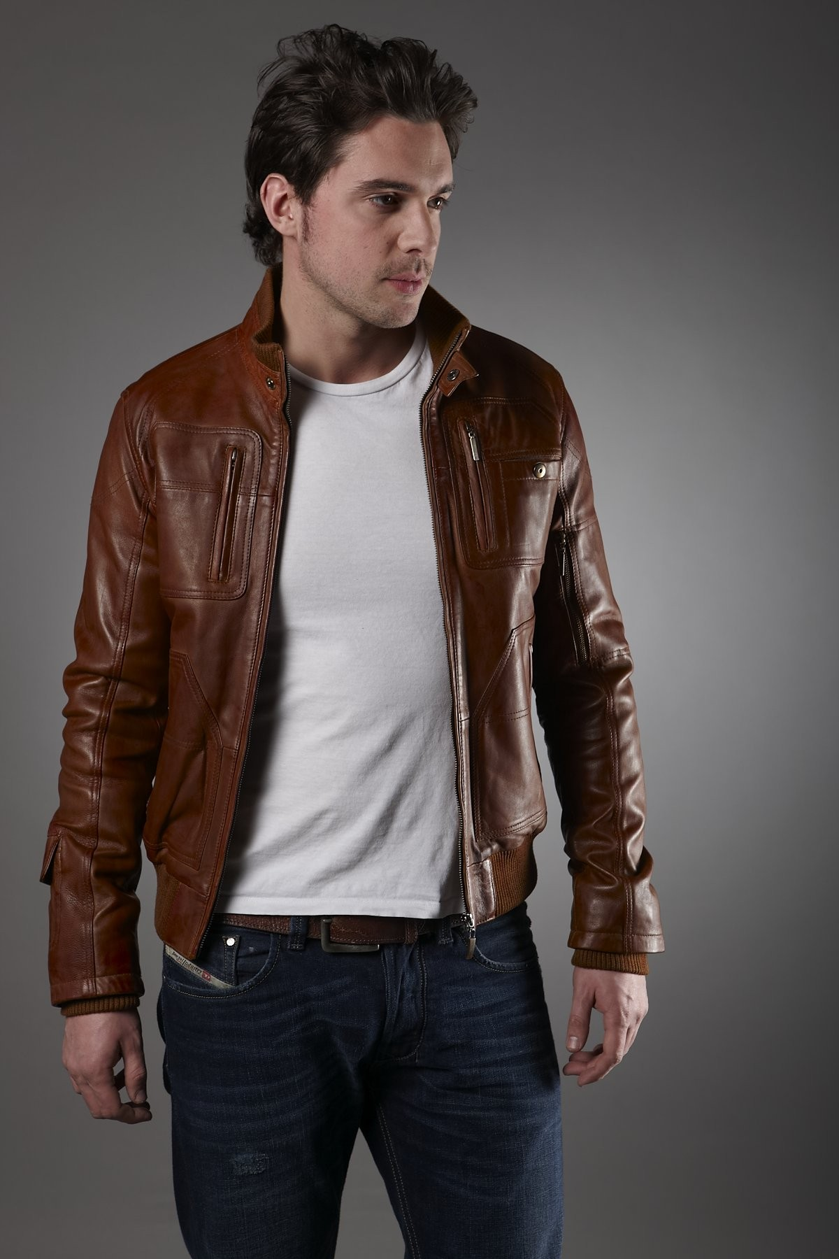 Impressive Men Leather Jackets