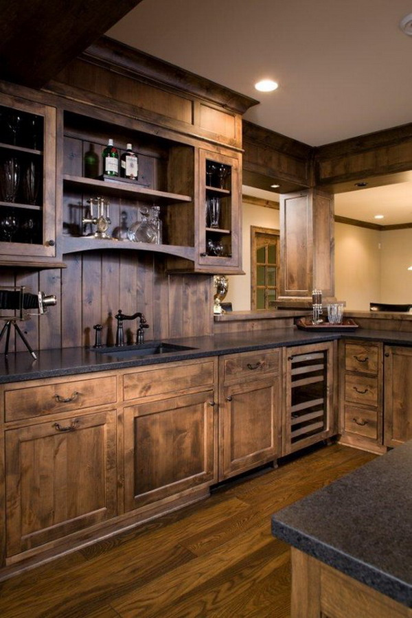 Rustic as kitchen remodeling ideas