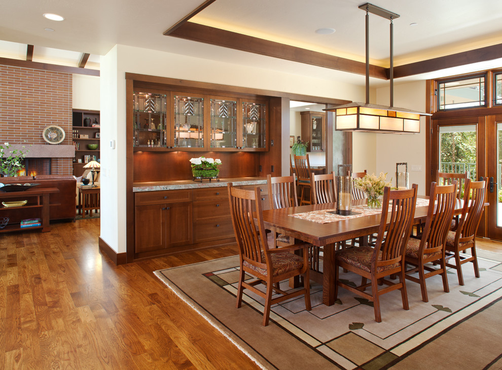 Craftsman Dining Room Design