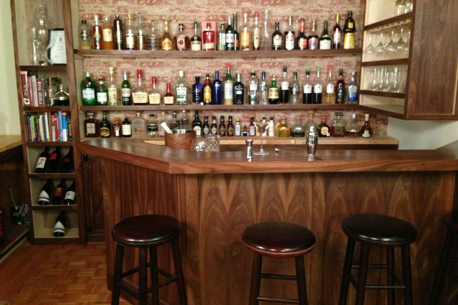 Small Home Bars Designs Throughout Home Bar Designs