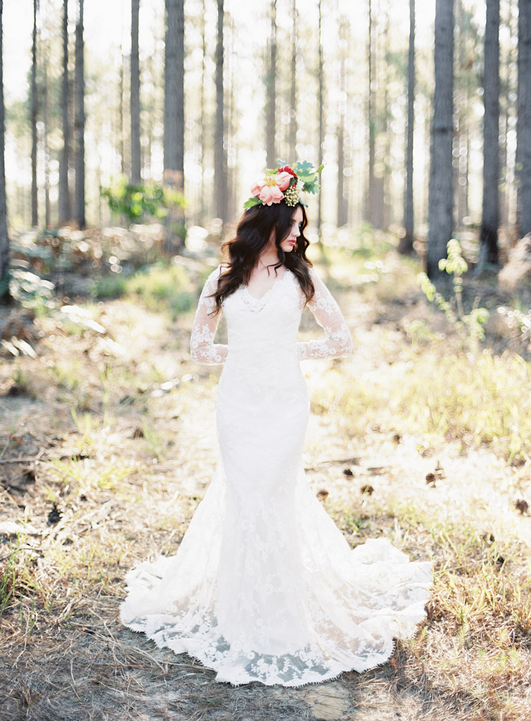 Woodland Wedding Dress