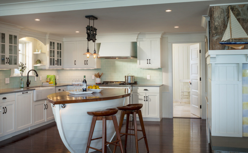 30 Awesome Beach Style Kitchen Design