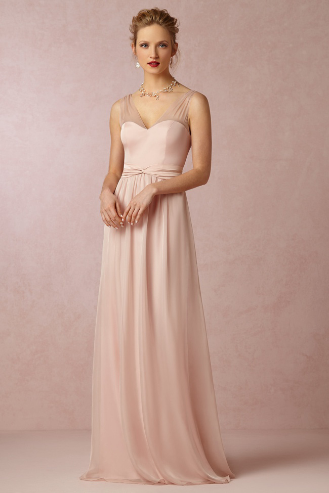bhldn fall colored pastels wedding dresses