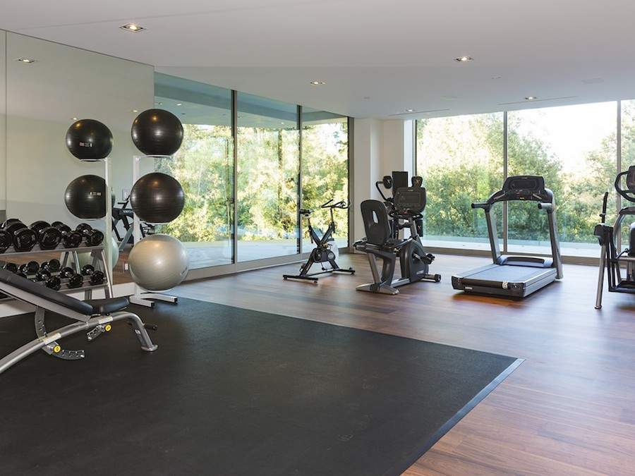 Home Gym Design: 30 Home Gym Design Ideas