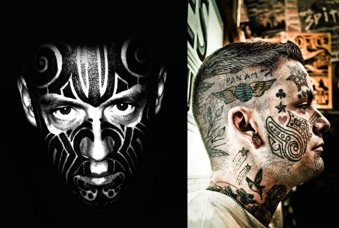 20 Awesome Face Tattoo Designs
