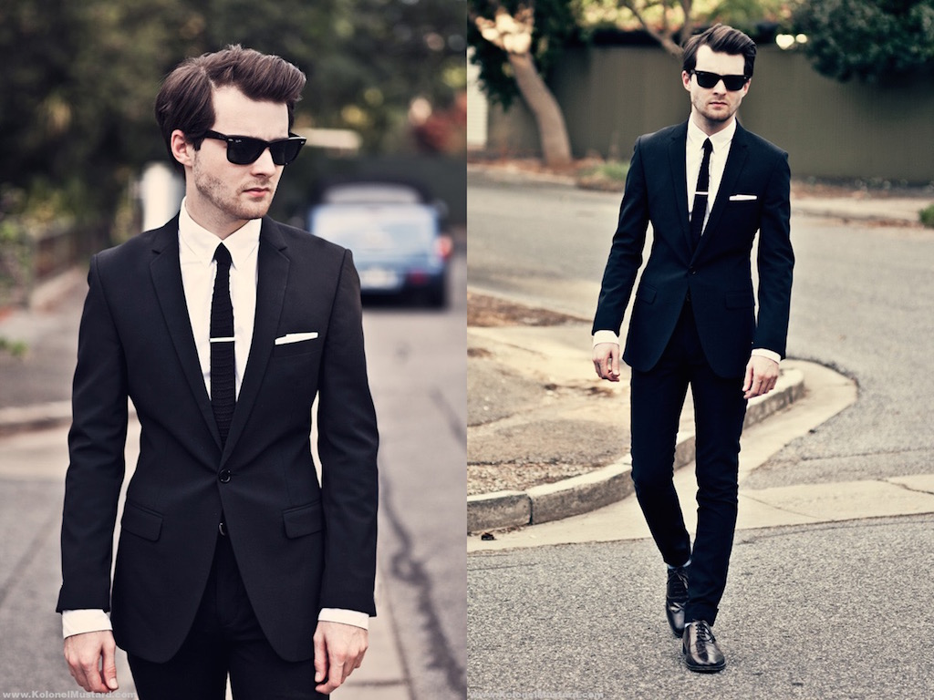 20 Best Black Suit For Men