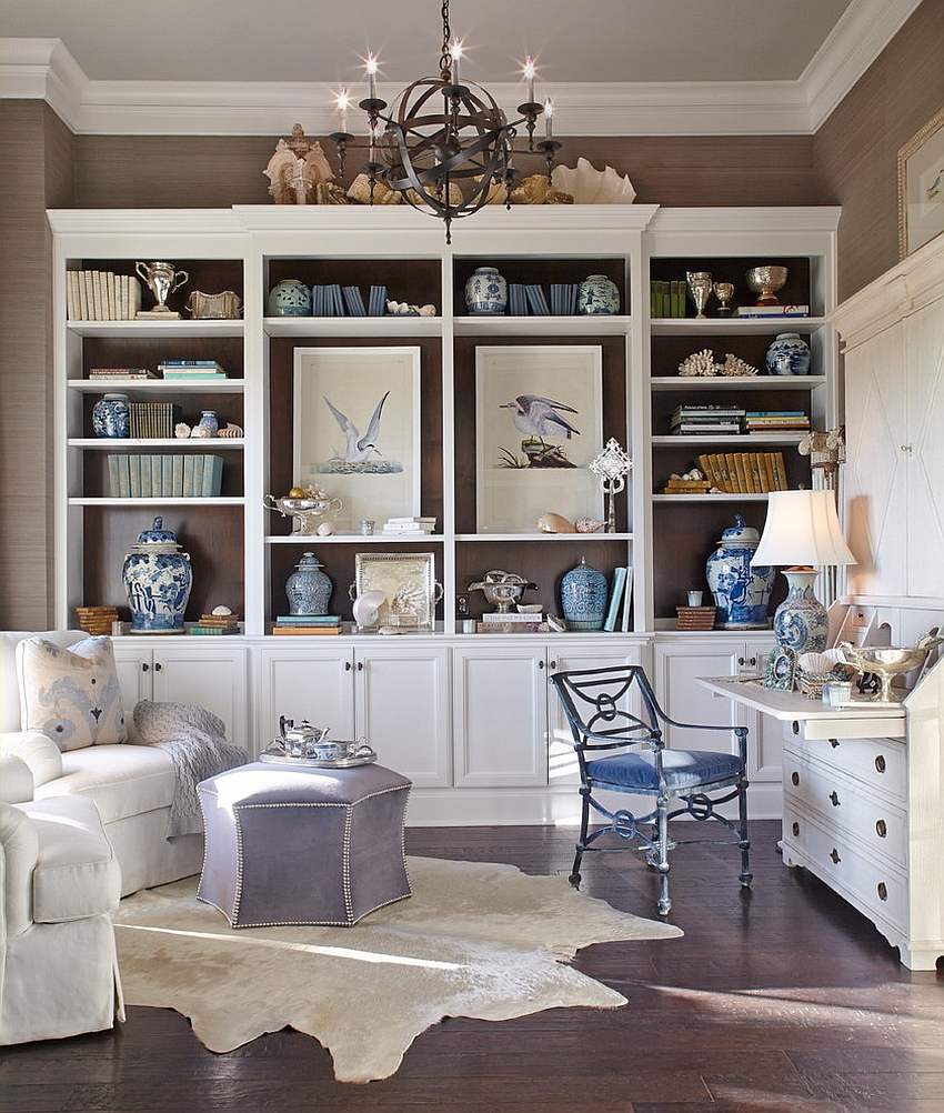 Gorgeous beach style home office and study