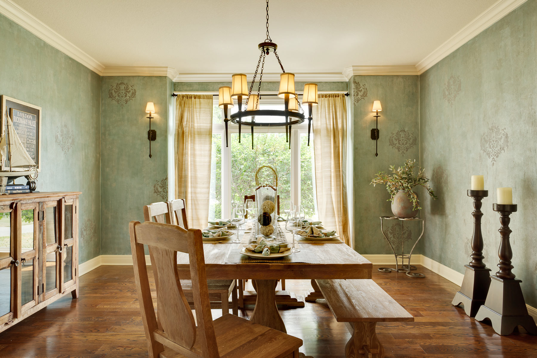 Rustic Dining Ideas