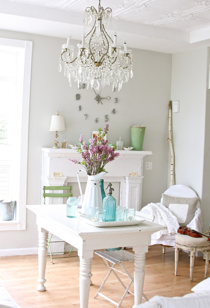 Stupefying Shabby Chic Wall Decor Dining Room Farmhouse design ideas