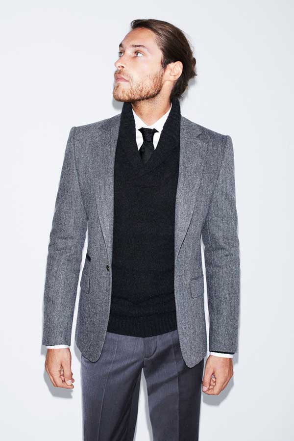 Zara Man grey suits