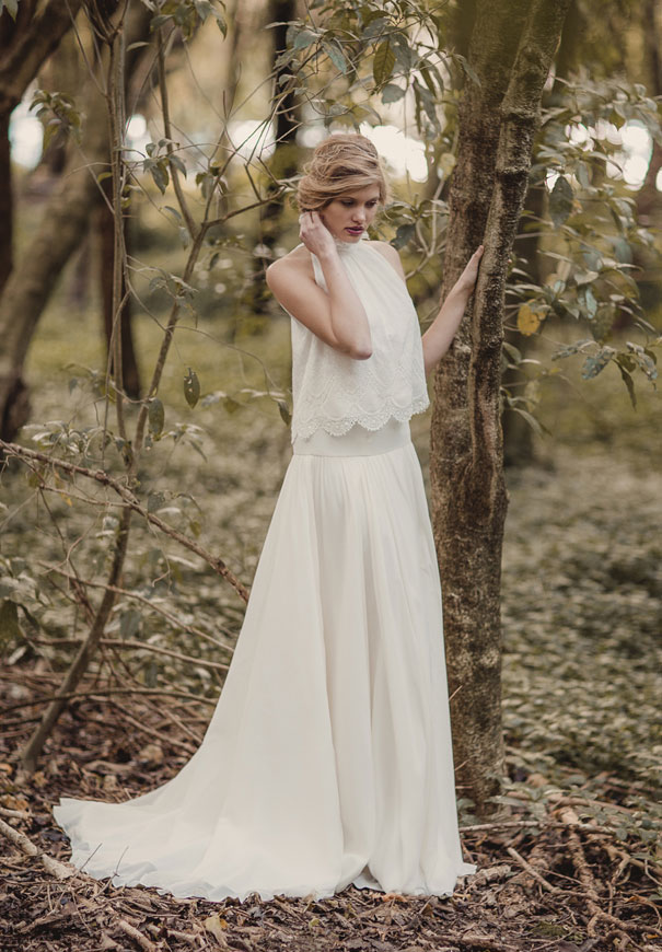 bridal gown wedding dress lace designer french australia new zealand