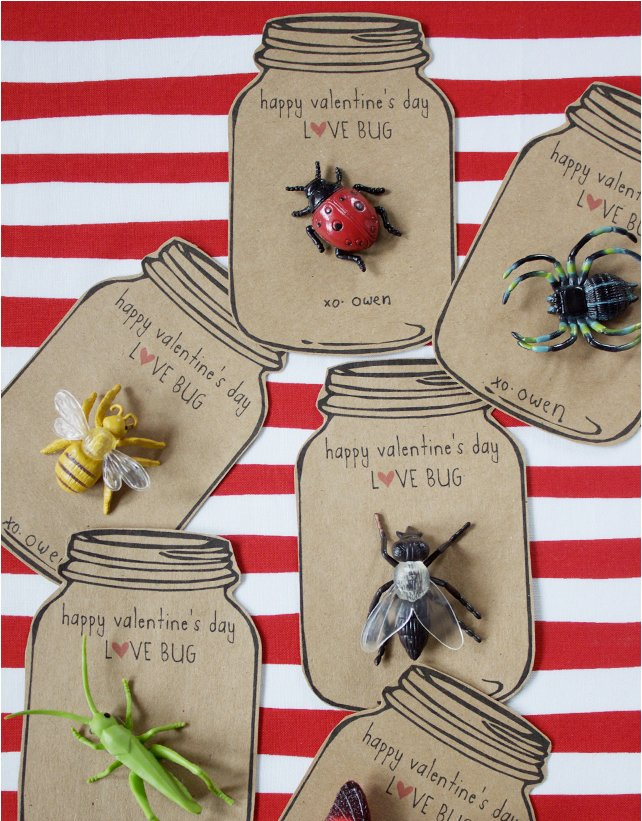 Love Bug Valentines vcard