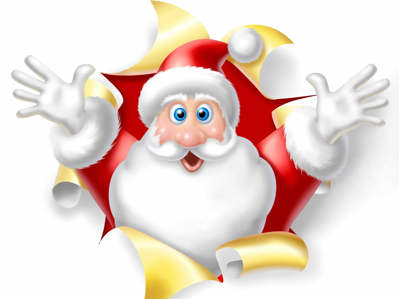 Wallpapers Holidays Christmas Santa