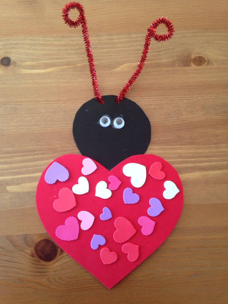 25 valentine craft express you love in a unique way feed for Valentines crafts for kindergarten